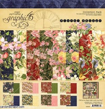 Paper Pk 12x12 Graphic 45 Floral Shoppe