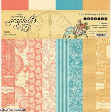 "Paper Pk 12x12"" Graphic 45 Pattern Imagine"