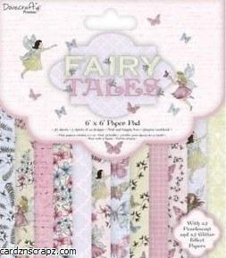 Paper Pk 6x6 Dovecraft Fairy Dust