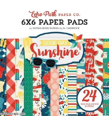 Paper Pk 6x6 EP Good Day Sunshine