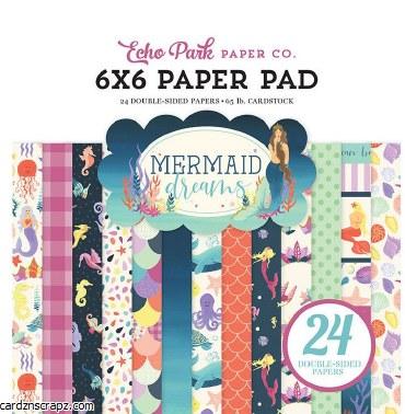 Paper Pk 6x6 Echo Park Mermaid Dreams