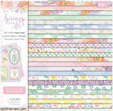 "Paper Pk Prima 12X12"" Spring Is In The Air"