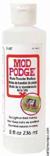 Mod Podge Photo Transfer Medium 236ml (8oz)