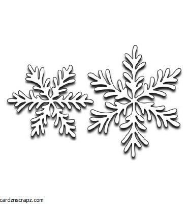 Penny Black Snowflake Duo