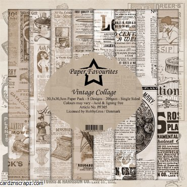 Paper Pk 12X12 PF Collage