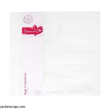 Page Protector PM 12x12 10pk