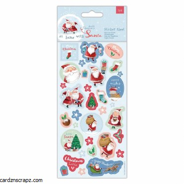 Stickers PM Home W Santa