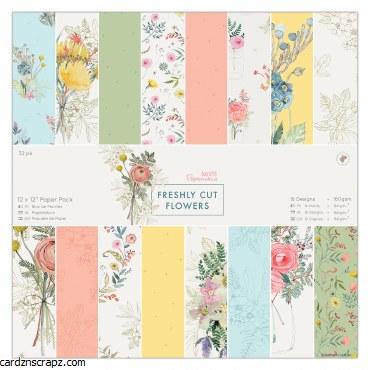 Paper Pk 12x12 Freshly Cut Flowers