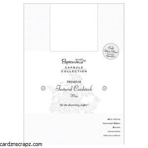 Card Pk A4 Textured White 216gm 20pk