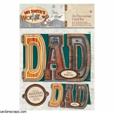 Papermania Decoupage Card Kit A5 Workshop