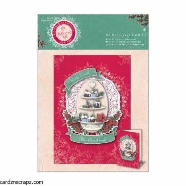 Papermania A5 Decoupage Card Kit Bellissima Christmas