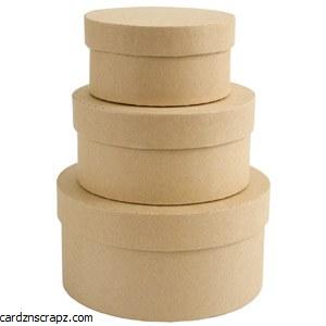 Boxes Nesting Circle 3pk