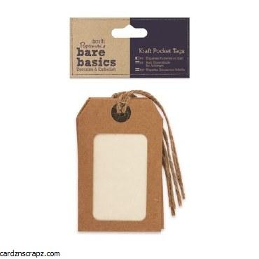 Papermania Kraft Pocket Tags