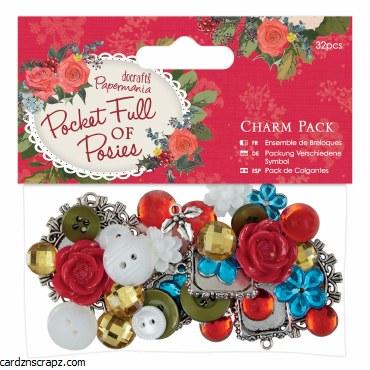 Papermania Charm Pack (32pcs) Pocket Full