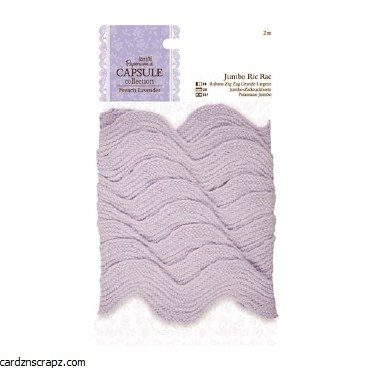 Papermania 2m Jumbo Ric Rac Capsule Collection French Lavender