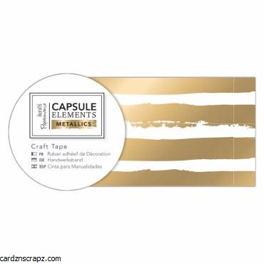 Craft Tape (3m) Met Gold Strip