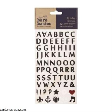 Papermania Alphabet Rub Ons