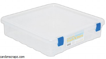 """Storage Box for 12x12"""" Paper"""