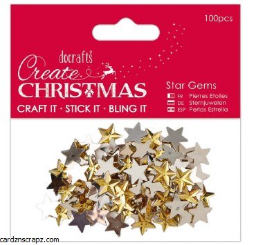 Gems Gold Star 100pk