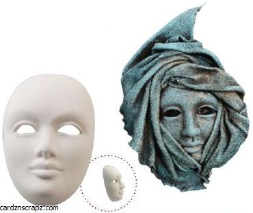 Powertex Venetian Mask 38302