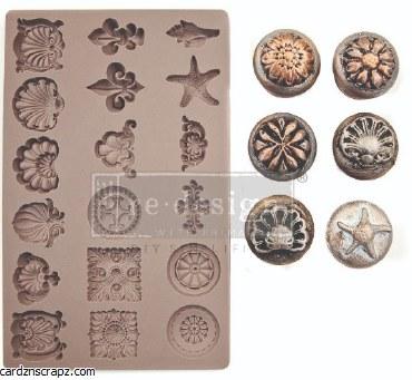 Prima Mould Seashore Treasures