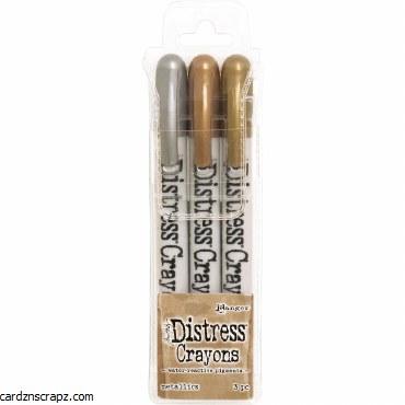 Distress Crayons Metallic Set