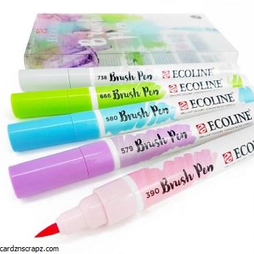 Ecoline Brush Pens Pastel 5pk