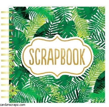 "Scrapbook 12x12"" Palm Leaves"