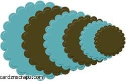 Nestabilities Scallop Circle L