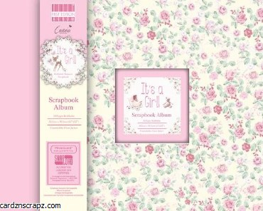 Scrapbook 12x12 First Edition It's A Girl