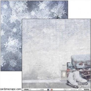 "Paper 12x12"" Studiolight Snowy Noon #1"