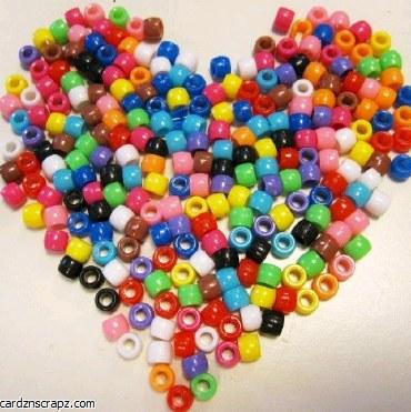Beads Pony Asst Colours 50g