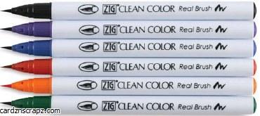 ZIG Clean Color Asst 6pk