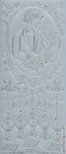 Outline Communion Boy's Silver