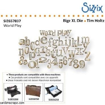 Sizzix Bigz XL Word Play^