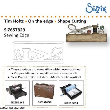 Sizzix Die Sewing Edge