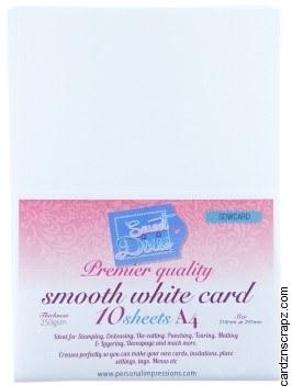 Card Pack A4 White 250g 10pk
