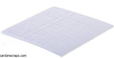 Foam Dots 5x5x3 mm 400pk