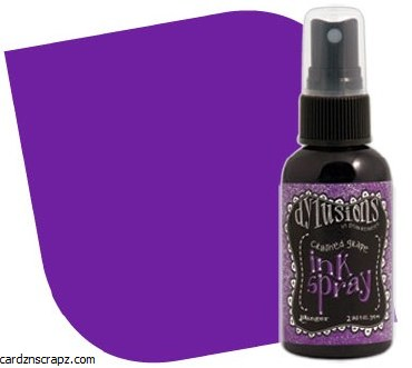Ink Spray Crushed Grape - Ranger Dyan Reaveley's Dylusions Collection