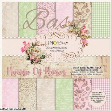 Paper Pk 12x12 LC Basics House of Roses
