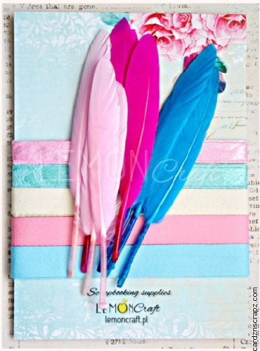 Feather/Ribbons LC Daydream