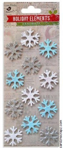 Stickers LB Snowflakes
