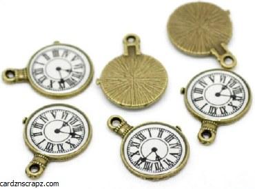 CAS Embellies Clocks 10pk
