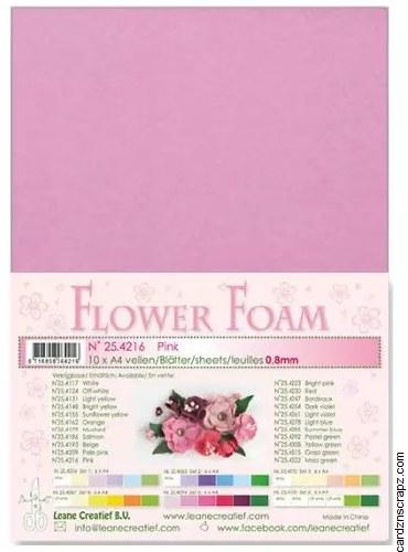 Flower Foam Pink