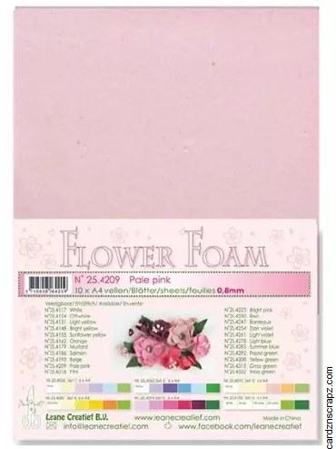 Flower Foam Pale Pink