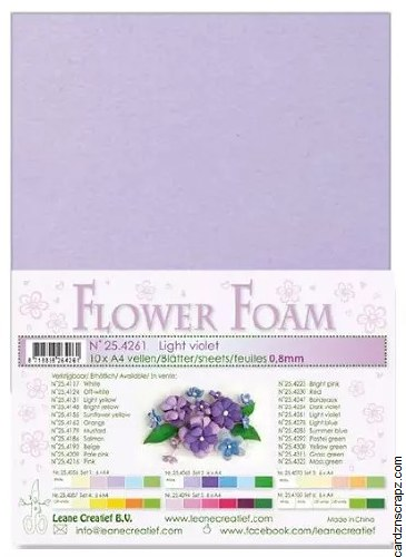 Flower Foam Light Violet