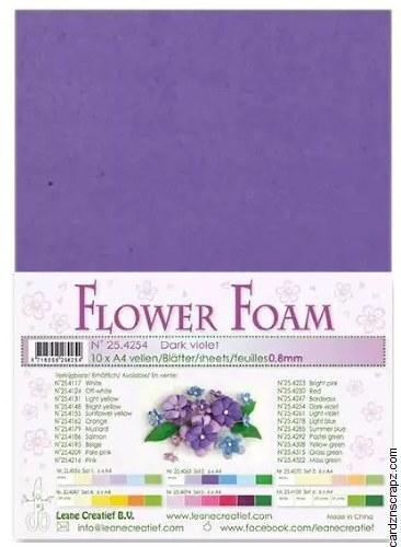 Flower Foam Dark Violet