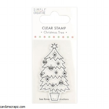 Clear Stamp Xmas Tree