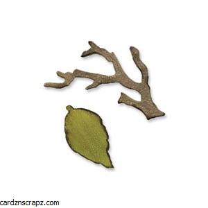 Sizzix Branch & Leaf 2pk
