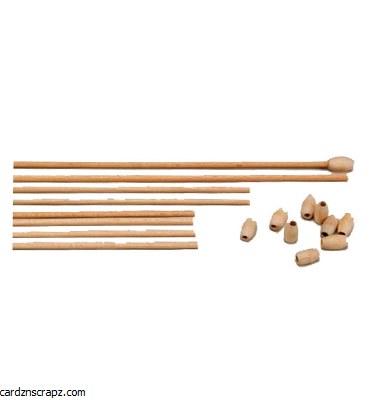 Wooden Sticks for Mobiles